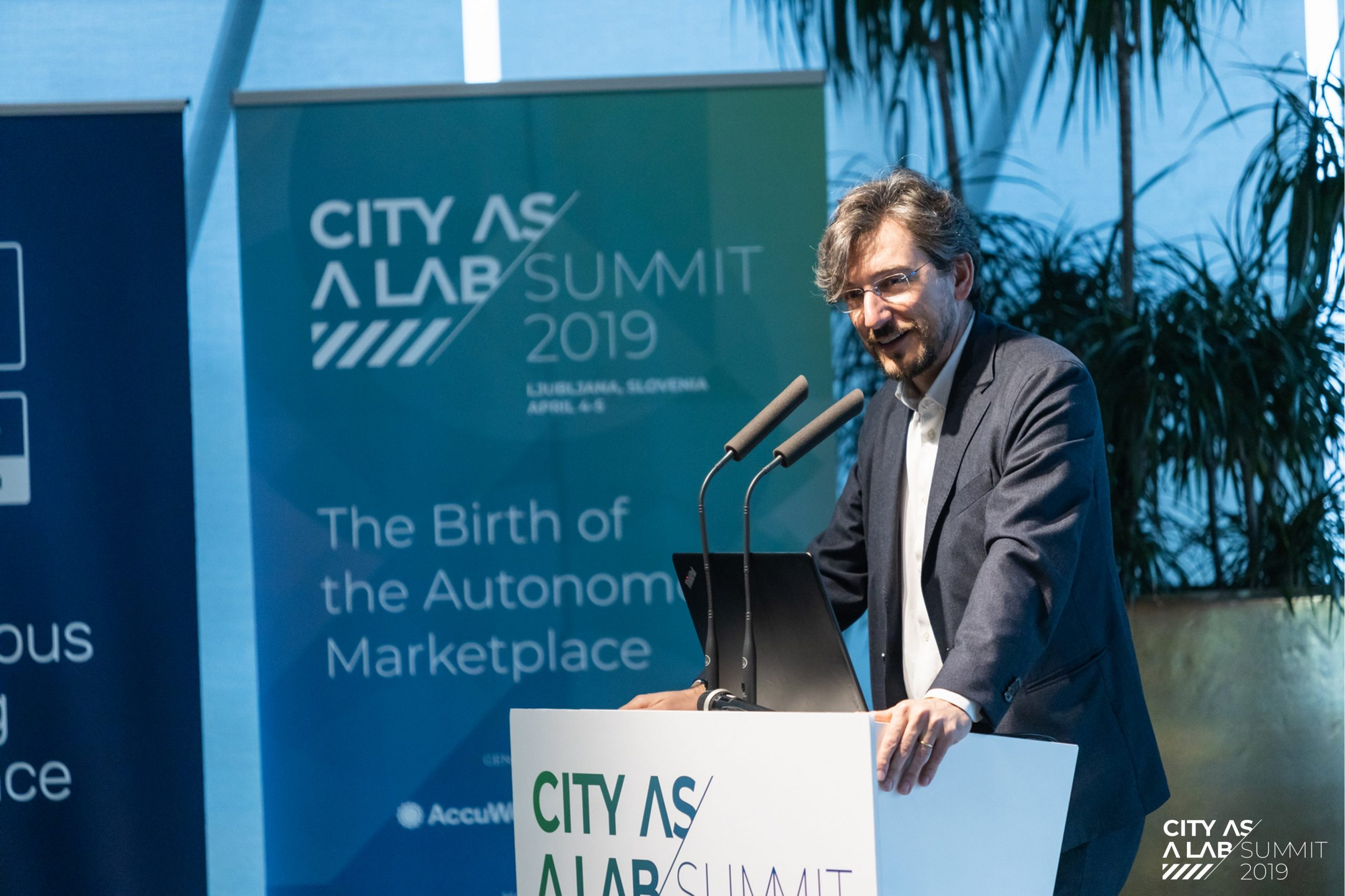 Luigi Ksawery Luca', City as a Lab Summit 2019