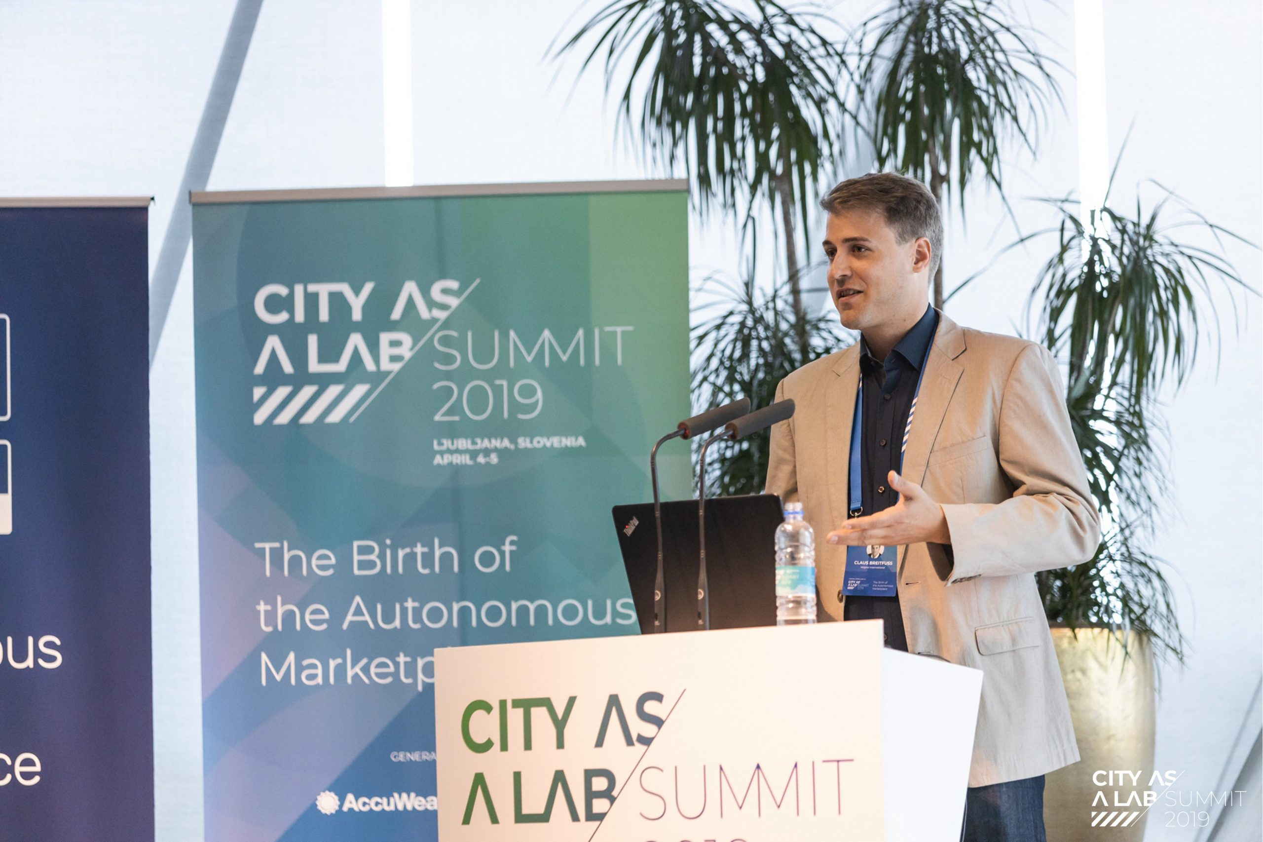 Claus Breitfuss, City as a Lab Summit 2019